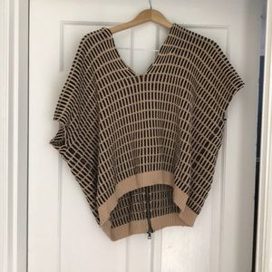 Free People small Something Special sweater poncho